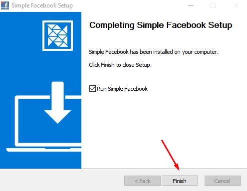 Kích hoạt giao diện Simple Facebook Crack